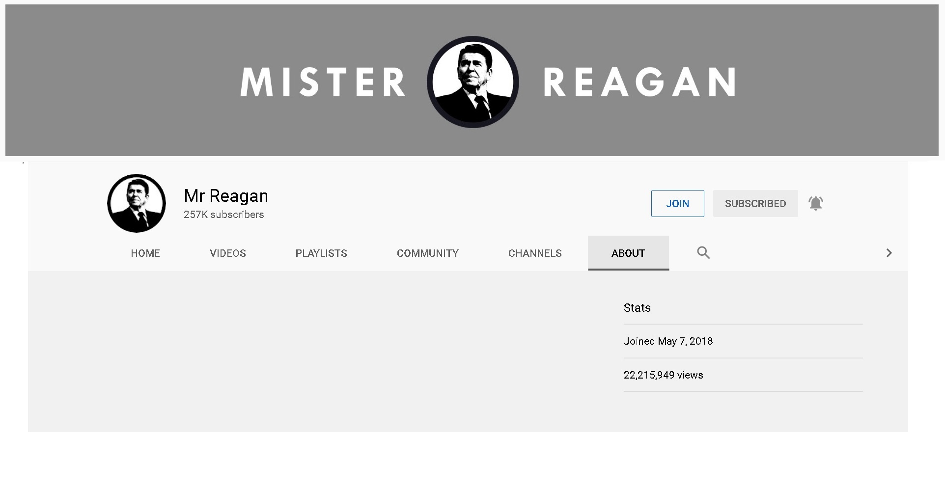 Mr Reagan